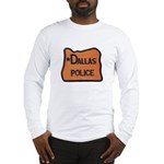 Dallas Oregon Police Long Sleeve T-Shirt