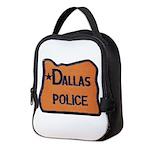 Dallas Oregon Police Neoprene Lunch Bag