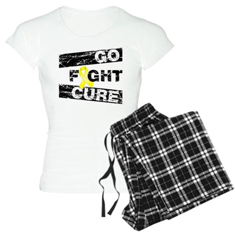 Sarcoma Go Fight Cure Women's Light Pajamas