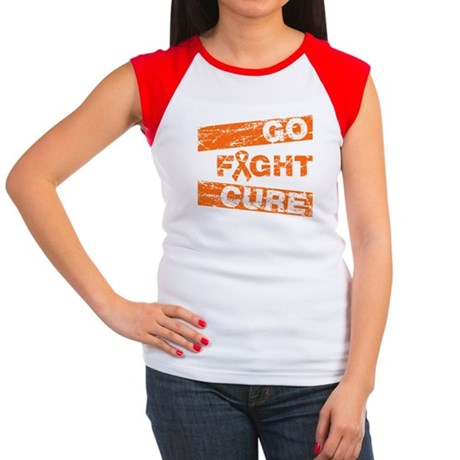 RSD Go Fight Cure Women's Cap Sleeve T-Shirt