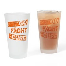 RSD Go Fight Cure Drinking Glass