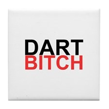 Dart Bitch Tile Coaster