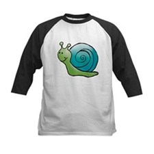 Green and Turquoise Snail Tee