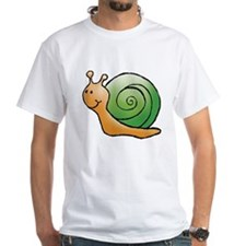 Orange and Green Snail Shirt