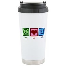 Peace Love 13.1 Ceramic Travel Mug