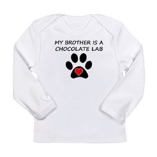 Chocolate Lab Brother Long Sleeve T-Shirt