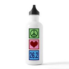 Peace Love 26.2 Water Bottle
