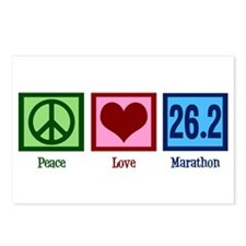 Peace Love 26.2 Postcards (Package of 8)