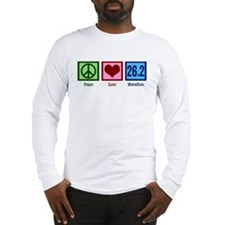 Peace Love 26.2 Long Sleeve T-Shirt