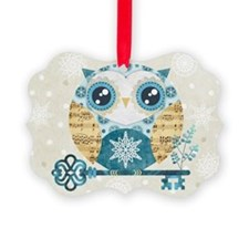 Winter Wonderland Owl Ornament