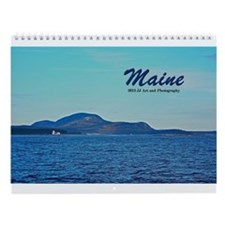 Images of Maine Wall Calendar