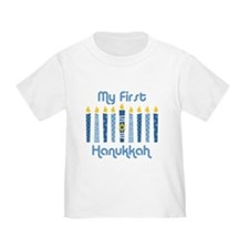 1st Hanukkah Candles T