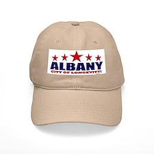 Albany City of Longevity Baseball Cap