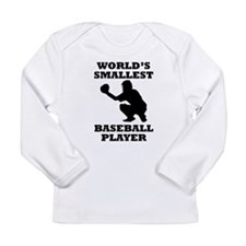 Worlds Smallest Baseball Player Long Sleeve T-Shir