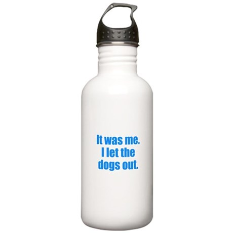 It Was Me. Water Bottle