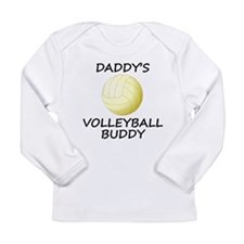 Daddys Volleyball Buddy Long Sleeve T-Shirt