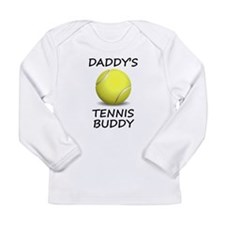 Daddys Tennis Buddy Long Sleeve T-Shirt