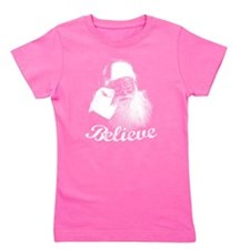 Santa Claus Believe Girl's Tee