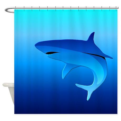 Shark Shower Curtain Rings