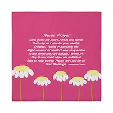 Nurse Prayer Blanket PILLOW 2 Queen Duvet