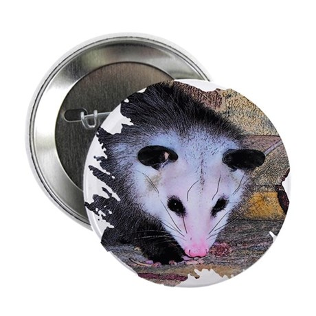"Virginia Opossum 2.25"" Button (100 pack)"