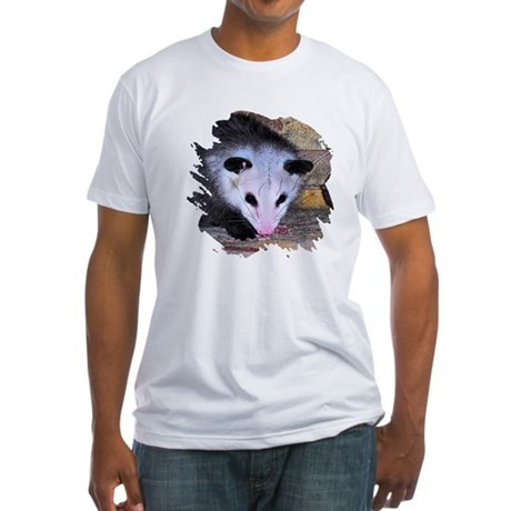 Virginia Opossum Fitted T-Shirt