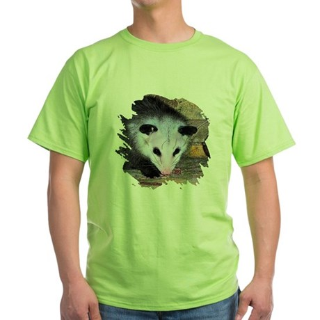 Virginia Opossum Green T-Shirt