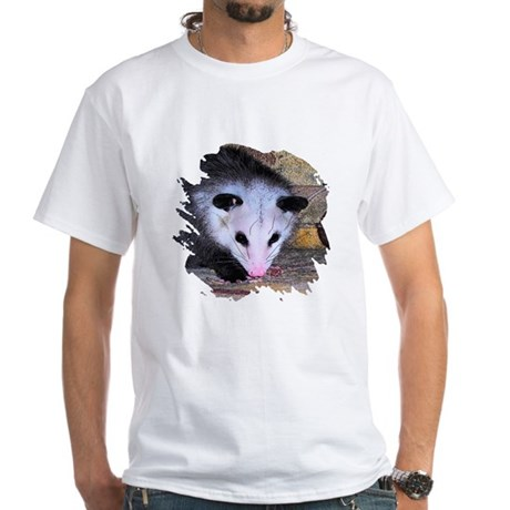 Virginia Opossum White T-Shirt