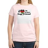 I love my Kenyan boyfriend Women's Pink T-Shirt