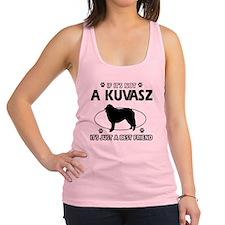 My Kuvasz is more than a best friend Racerback Tan