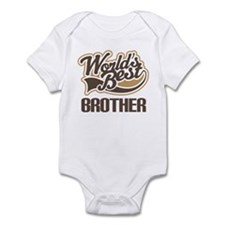 Worlds Best Brother Infant Bodysuit