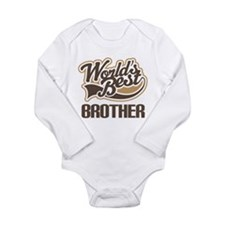 Worlds Best Brother Long Sleeve Infant Bodysuit