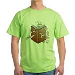 Bookworms (the Dickens Feast) Green T-Shirt
