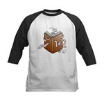 Bookworms (the Dickens Feast) Kids Baseball Jersey