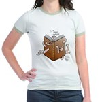 Bookworms (the Dickens Feast) Jr. Ringer T-Shirt