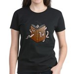 Bookworms (the Dickens Feast) Women's Dark T-Shirt