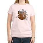 Bookworms (the Dickens Feast) Women's Pink T-Shirt