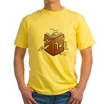 Bookworms (the Dickens Feast) Yellow T-Shirt