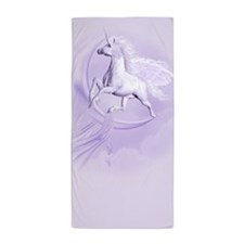 Flying Pegasus Beach Towel
