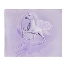 Flying Pegasus Throw Blanket