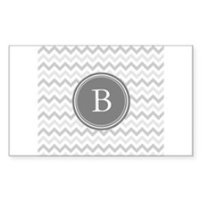 Shades of Grey Monogram Decal