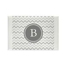 Shades of Grey Monogram Magnets