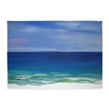 Beautiful Beach 5'x7'Area Rug