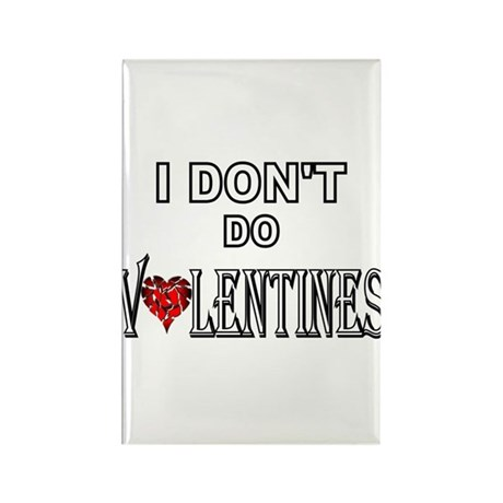 Anti-Valentine Rectangle Magnet