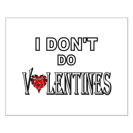 Anti-Valentine Small Poster