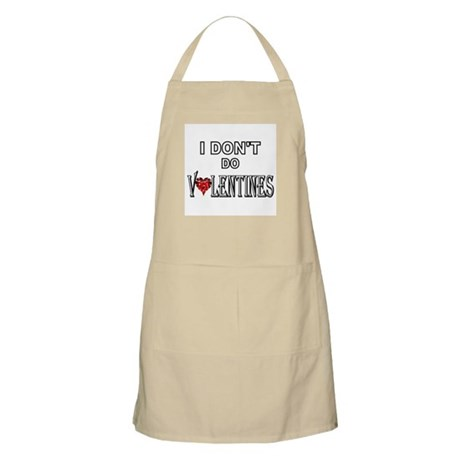 Anti-Valentine BBQ Apron
