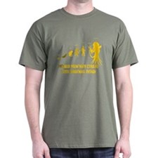 Lovecraft - Cthulhu Darwinism T-Shirt