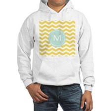 Monogram yellow chevron Jumper Hoody
