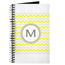 Monogrammed chevron Journal