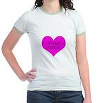 Scrapbooker - Scrap Adict Jr. Ringer T-Shirt